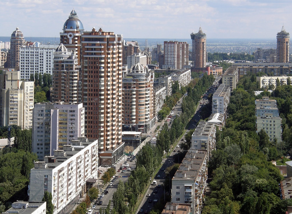 Lesia Ukrainka Boulevard