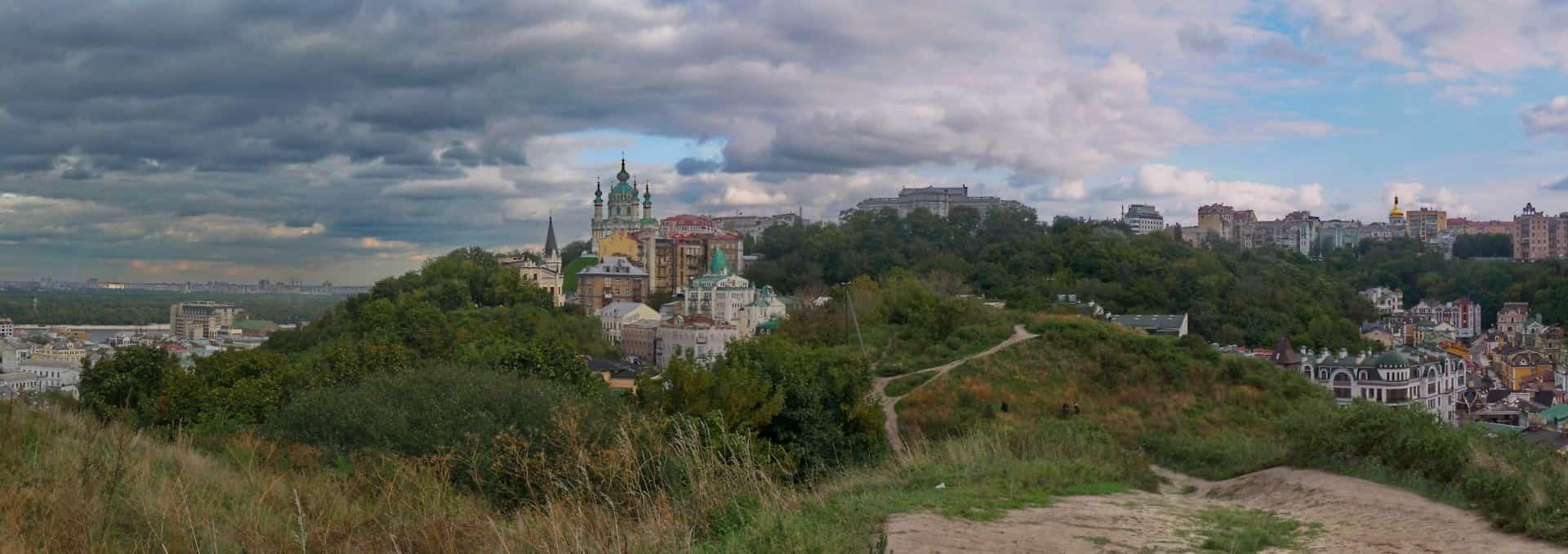 Zamkova Hill view