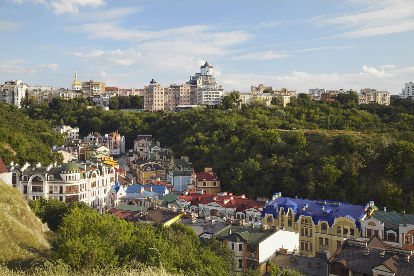 Starokyivska Hill view