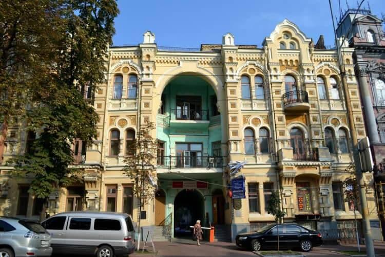 43, Volodymyrska Str. – the house of Antonovich