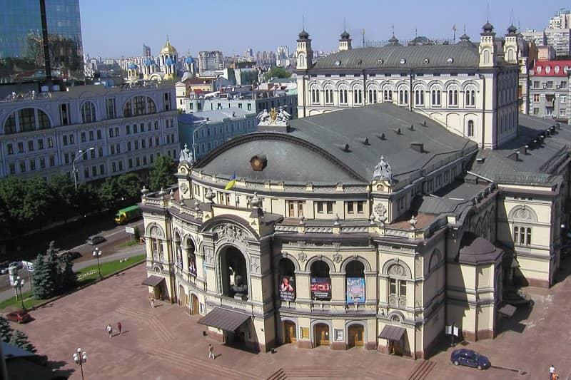 50, Volodymyrska Str. – the Opera House