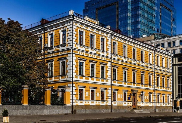 54, Volodymyrska Str. – the female board of Levashova
