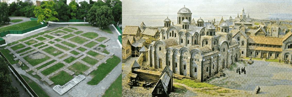 The Tithe Church Kiev