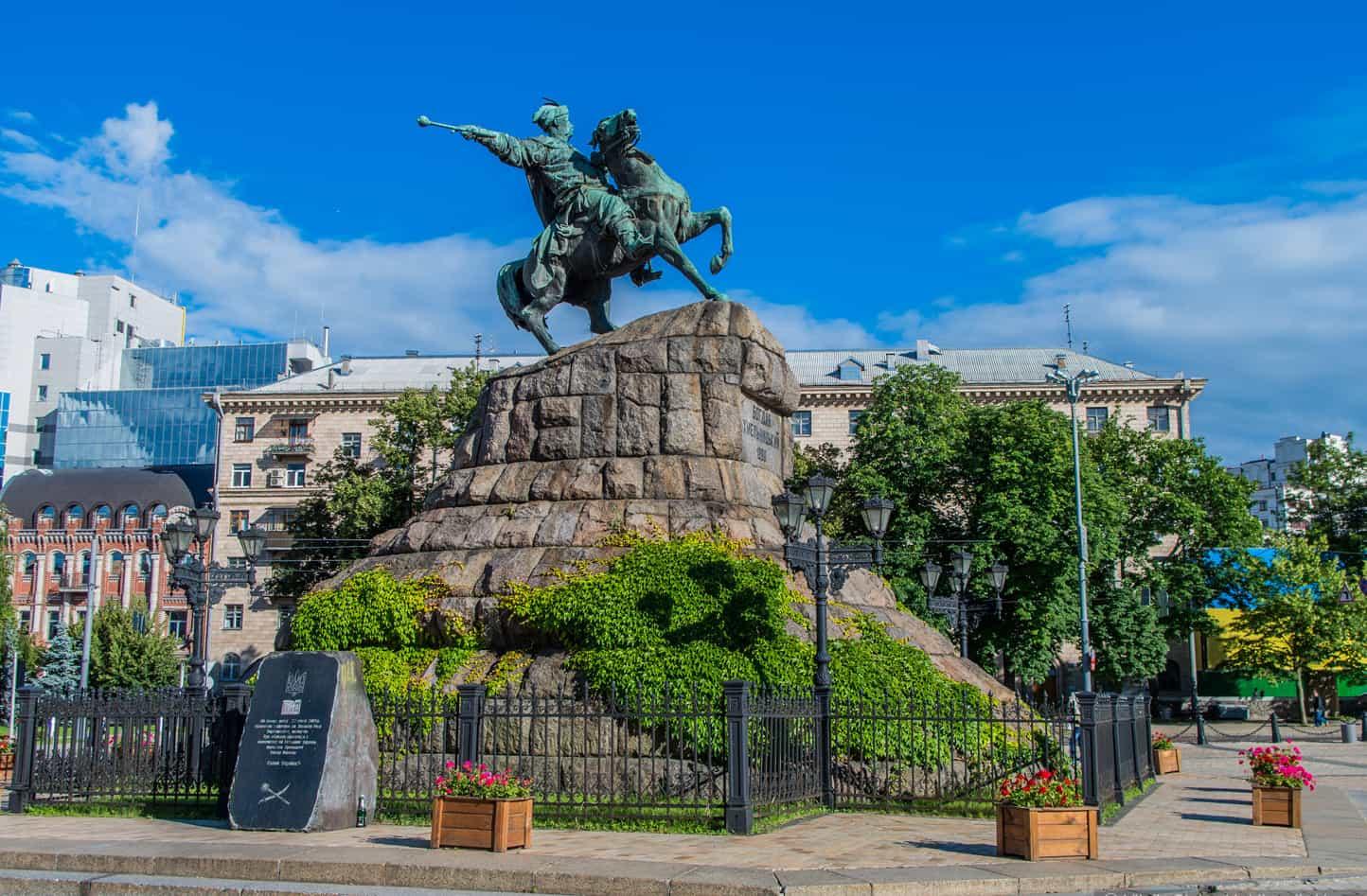The Monument to B. Khmelnitsky