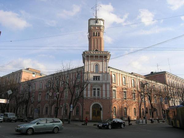 13/5, Volodymyrska Str. – the fire-tower