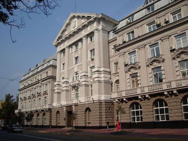 33, Volodymyrska Str. – the building of Kiev Provincial Zemstvo