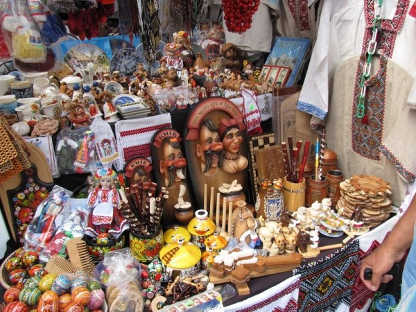 Market of souvenirs Opening Day