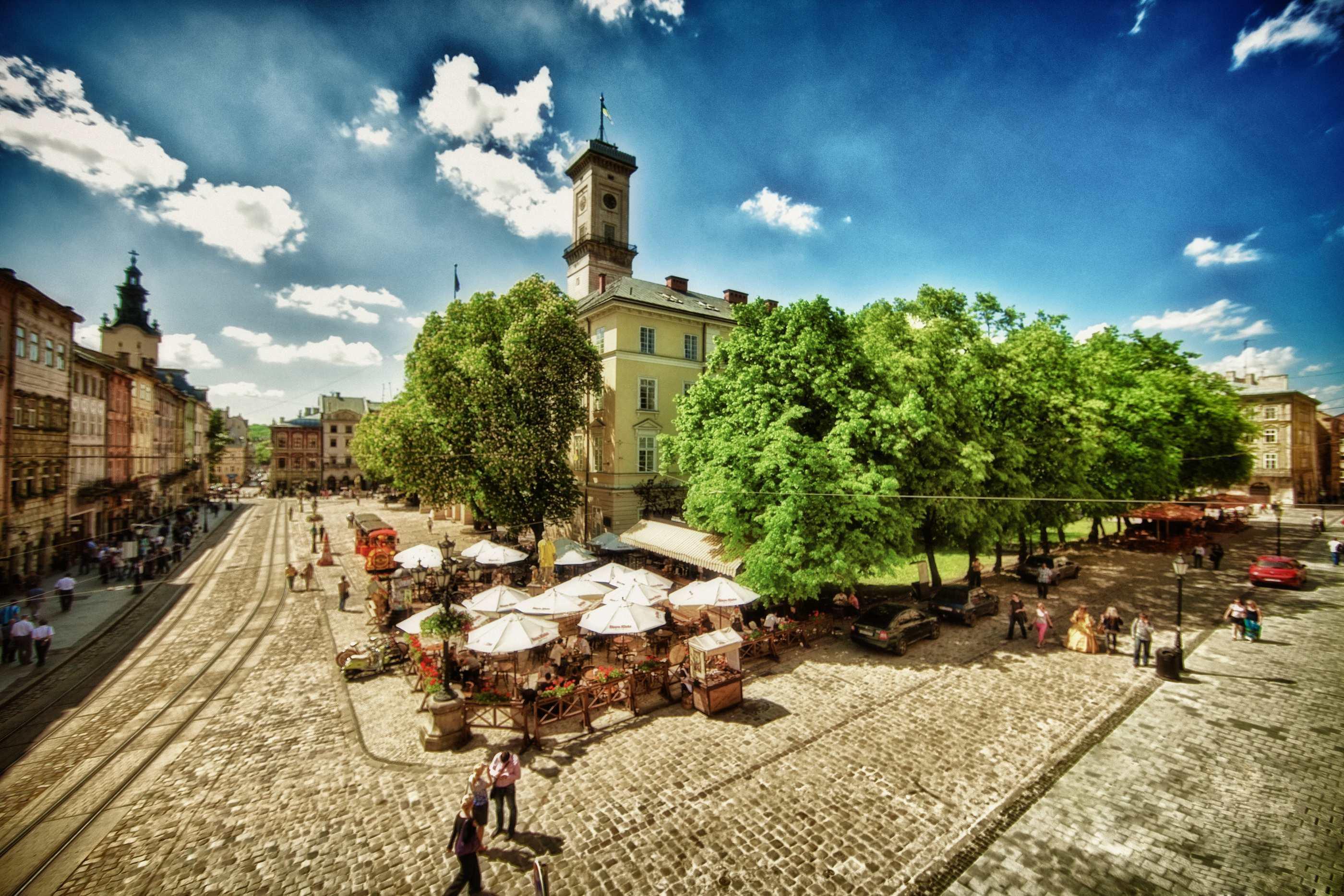 Обзорная экскурсия по Львову, площадь Рынок