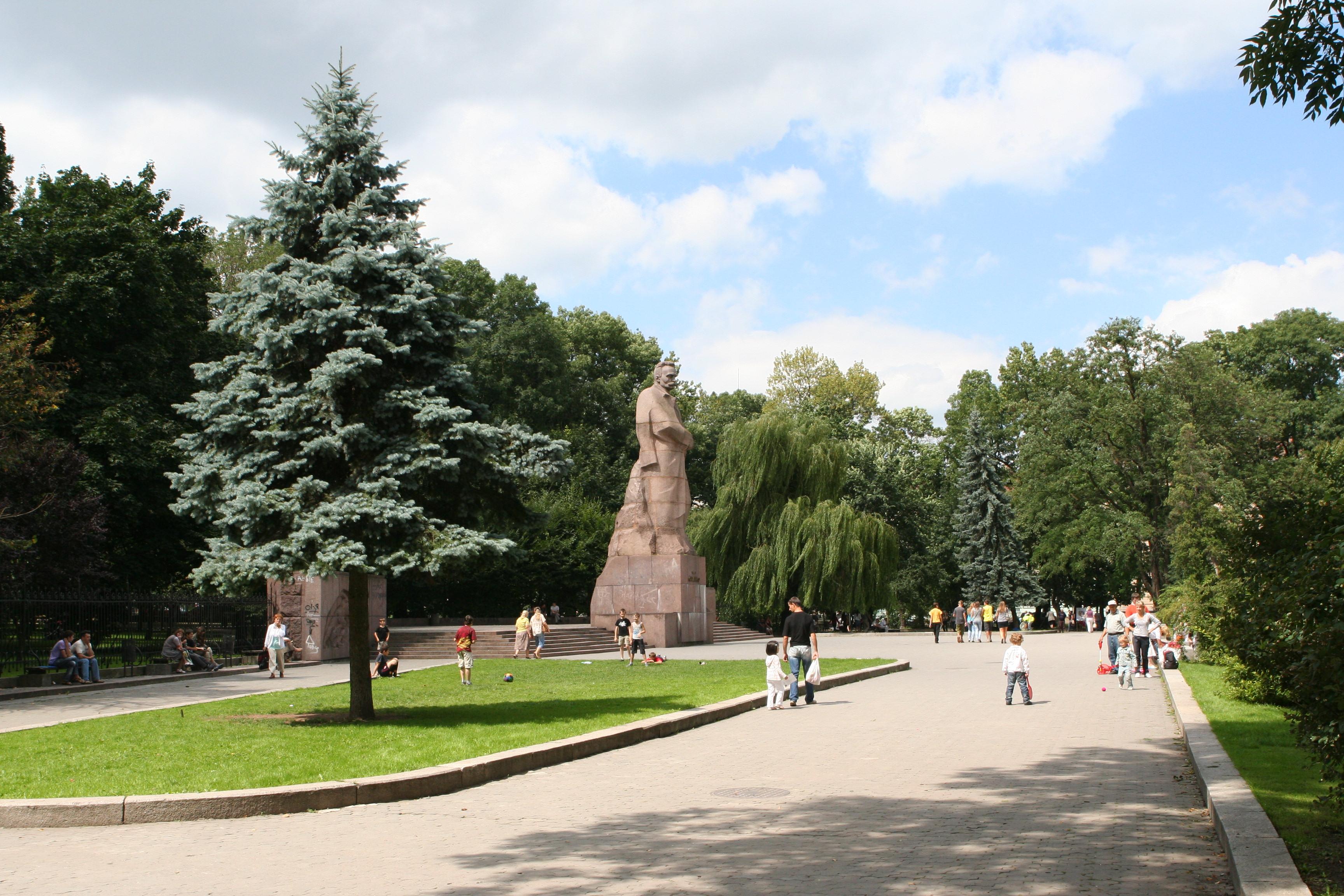 monument of Ivan Franko