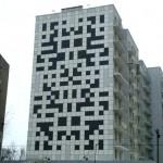 Crossword puzzle house