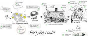 PARTY ROUTE in Dnepr