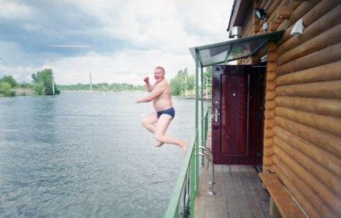 русская баня поплавок оболонь